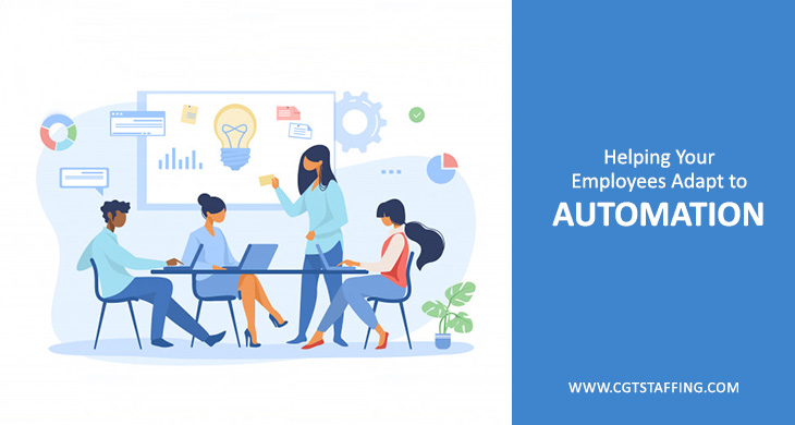 Helping Your Employees Adapt to Automation