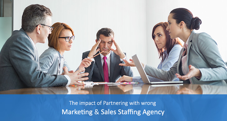Wrong Marketing & Sales Staffing Agency