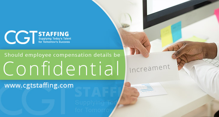 compensation confidentiality